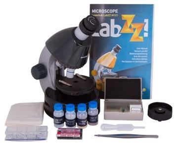 Školský mikroskop pre deti, optické M101 / 640x