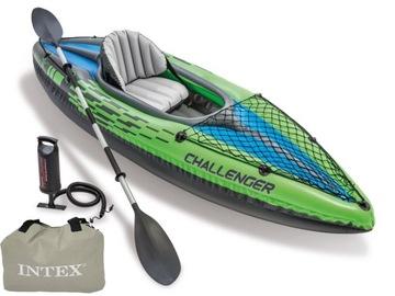 Single kajak Paddle Pump Challenger K1 Intex 68305