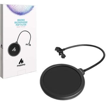 Filtr na mikrofón pre mikrofón pre štúdio MAONO AU-PF120