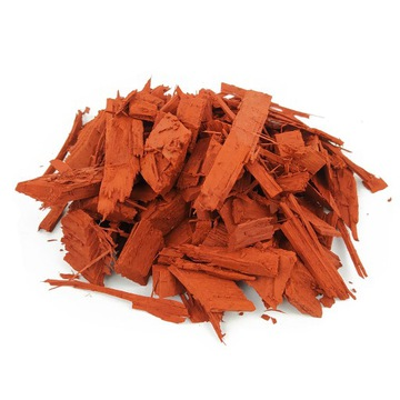 Dekoratívne čipy farebné kôry 50l červená