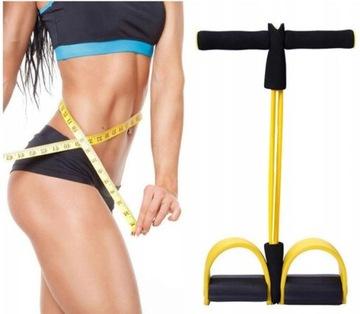 Expandér na nohách pre cvičenia fitness brušné nohy
