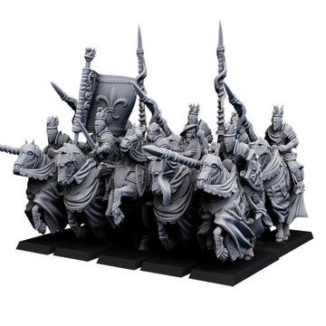 Heavy Cavalry - Bretonnia - Highlands Miniatúry