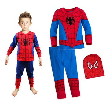Kostým masky SPIDERMAN M na maskovanie oblečenia 110-116