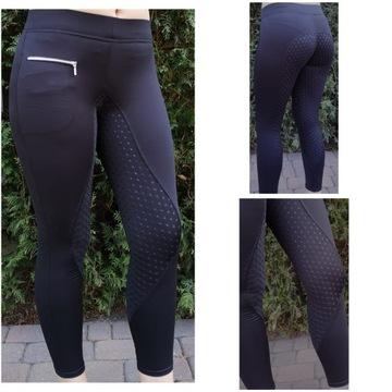 Nohavice s plnou čiernou čipkou