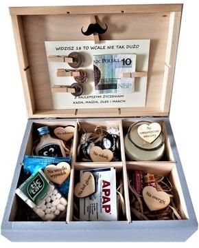 Kolónka Essential Birthday Darčeková krabička 18 30 40