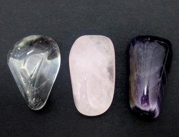 Sada kameňov Ametyst Quartz Pink Crystal