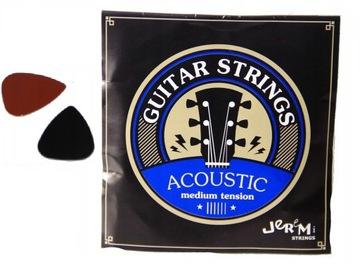 Reťazce pre akustickú gitaru Jeremi + 2 kocky