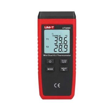 Teplotný meter digitálneho teplomeru UT320D J / K
