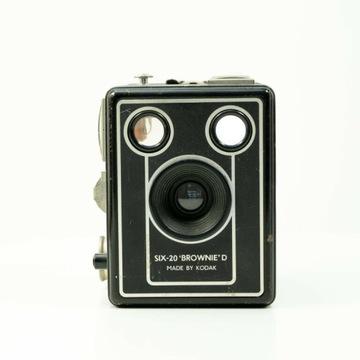 Kodak šesť-20 hnedý d