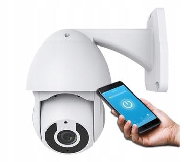 Vonkajšia rotačná kamera SmartCam Tuya Google