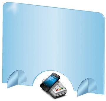 Shield, sklo, Plexi Antivirus Ochrana 100x80cm