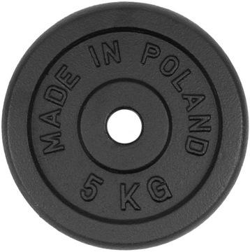 Liatinové zaťaženie 5 kg doskové hradné kotúčové