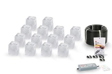 14x LED dlažbový prípravok Piccola Cold BZ