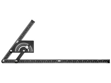 Nastaviteľný rybár s 180 °ovým protracícom 230 x 500 mm