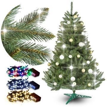 Vianočný strom umelý smrek 220cm stojan + zadarmo