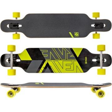 Skateboard Longboard Raven Torex citrón ABEC9