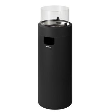 Plynový krb Enders Nova LED L čierny