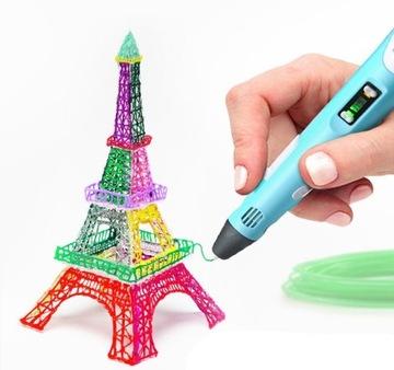 3D pero pero 3D tlačiareň + 3 farebné kazety