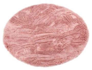 Kruhový mäkký plush koberec PLUS KRUH 120cm