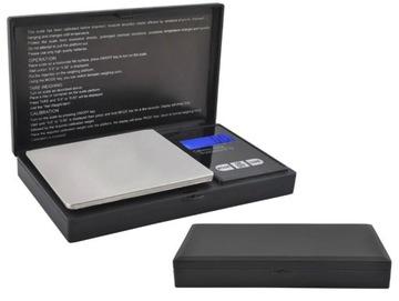 Klenoty Hmotnosť 500g Digitálny puzdro + Batérie