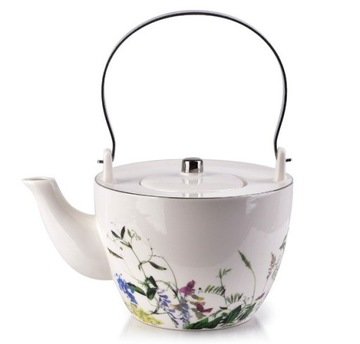 Džbán Coffee Tea Bers Porcelán Kvety 870 ml
