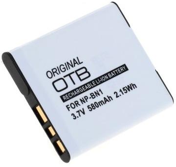 OTB batéria NP-BN1 580 MAH Výmena pre Sony