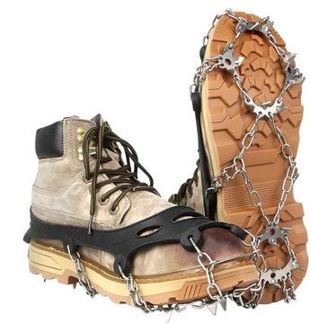 Topánky pre topánky R.39-44 Reťaze 18 Zuby Veľkosť L