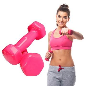 2ks sada činiek Dumbbells Dumbbell Fitness 2x2kg