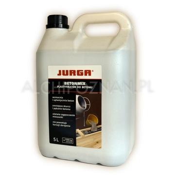 Betonmix 5L Jurga Plastifikátor Veľmi silný betón