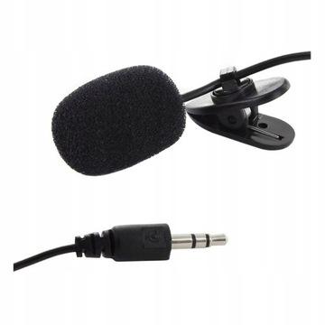 Kravatu mikrofón kapacitný vokálny klip