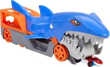 Príťažlivé kolesá Transporter Pink Shark + Car GVG36