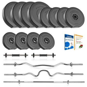 Sapphire 87 Barbells, Griffin, Load