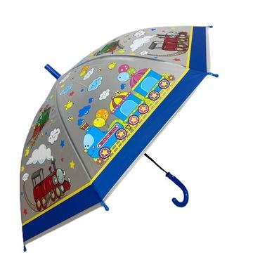 Dáždnik pre deti. Vláčik pre chlapcov