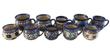 Keramický hrnček 10 szt-keramika bolesławiec