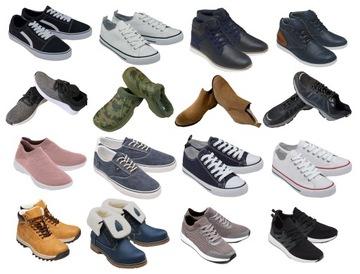 Mix balík pre pánske topánky muži 30 párov veľkoobchod