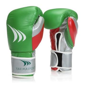Boxerské rukavice Prírodný kožený Grant 14 oz