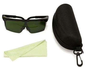 Okuliare pre IPL laser Elight UV BHP + CASE + SHAWL