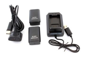 KX7A XBOX 360 2X BATTERY + USB kábel