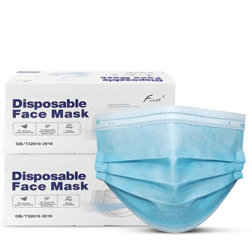 Maska Jednorazová ochranná maska 3W 100 kusov
