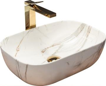 Keramické umývadlo BELINDA MARMUR STONE GLOSS