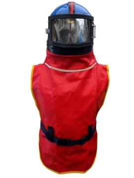 Ochranná prilba pre Sander Res-4 pre pieskovanie