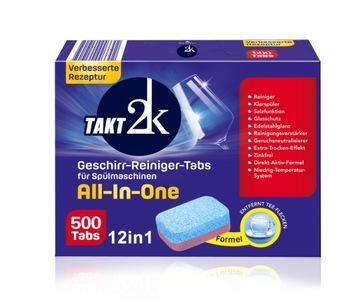 Nemecké tablety pre umývačku 12W1 XXL 500ks