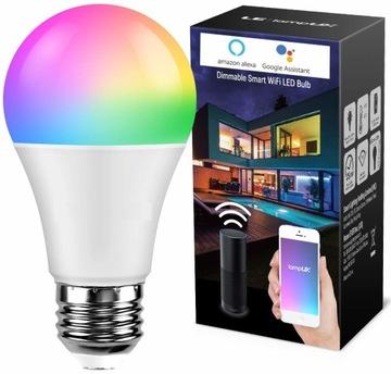 LED SMART E27 9W 806LM WIFI RGB SMARTLIFE ŽIAROVKA