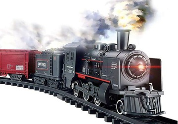 Veľké elektrické železničné lokomotíva dymové vagóny