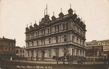 [Nový Zéland, Auckland] Harbor Kancelária 1912
