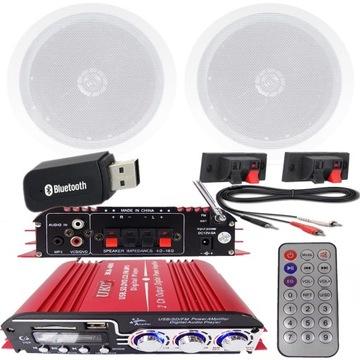Stropné audio kúpeľne Rádio Bluetooth