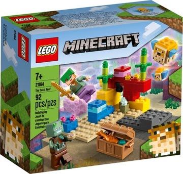 Lego Minecraft Coral Reef 21164