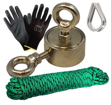 Držiak 100 kg Neodymový magnet - Set
