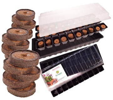Mini Greenhouse Skontrolujte semenáčkové rašelinové disky X40