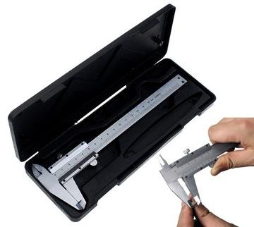 Tradičný Caliper 150mm Analógový manuálny prípad